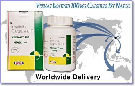 Veenat Capsule Price | Natco India Imatinib 100 Mg Supply | Natco