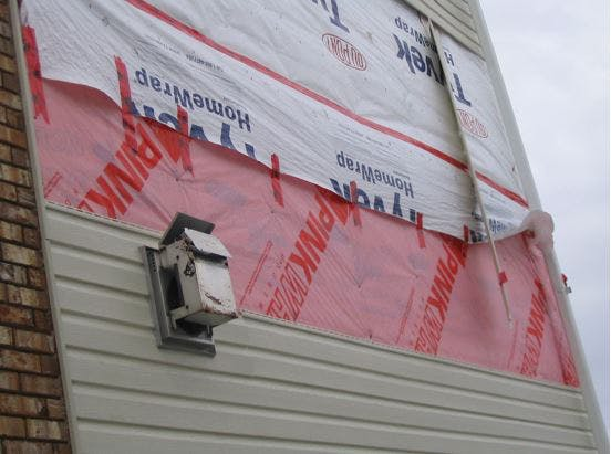 Sealing the Air Barrier System with Sheathing Tape | Ontario